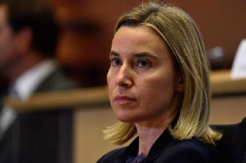 EU foreign affairs chief Federica Mogherini (3)