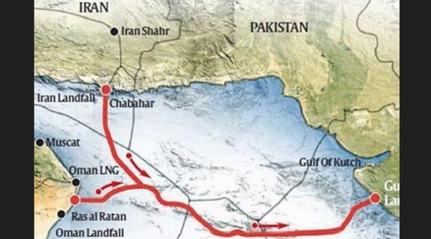 Iran-Oman-India pipeline (Tasnim)